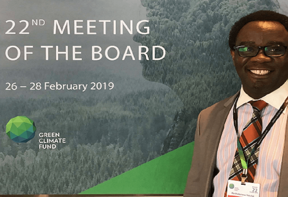 Our Representative at GCF Board Meeting